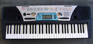 yamaha psr 170 electronic keyboard synthesizer electric piano w rh ebay com yamaha psr 170 manual download yamaha psr 170 manual español