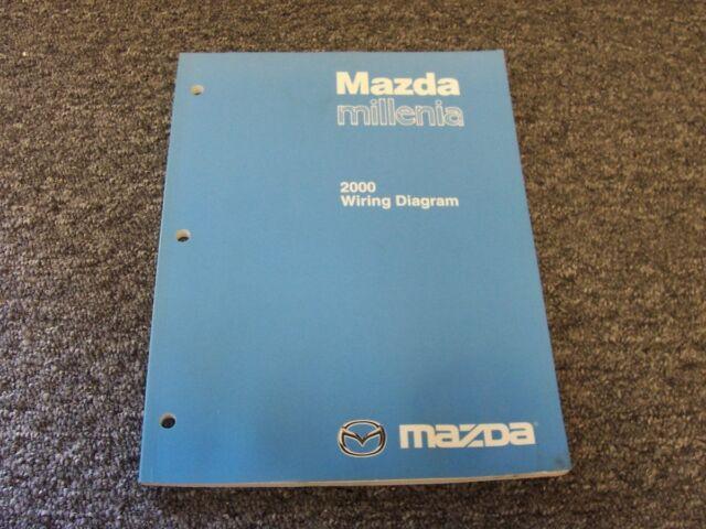 2000 Mazda Millenia Sedan Electrical Wiring Diagram Manual