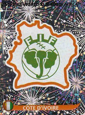 Panini Sticker Fußball WM 2010 Nr Logo Glitzerbild NEU 31 South Africa Wappen
