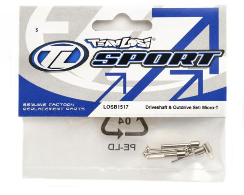 Micro-T LOSB1517 Driveshaft /& Outdrive Set