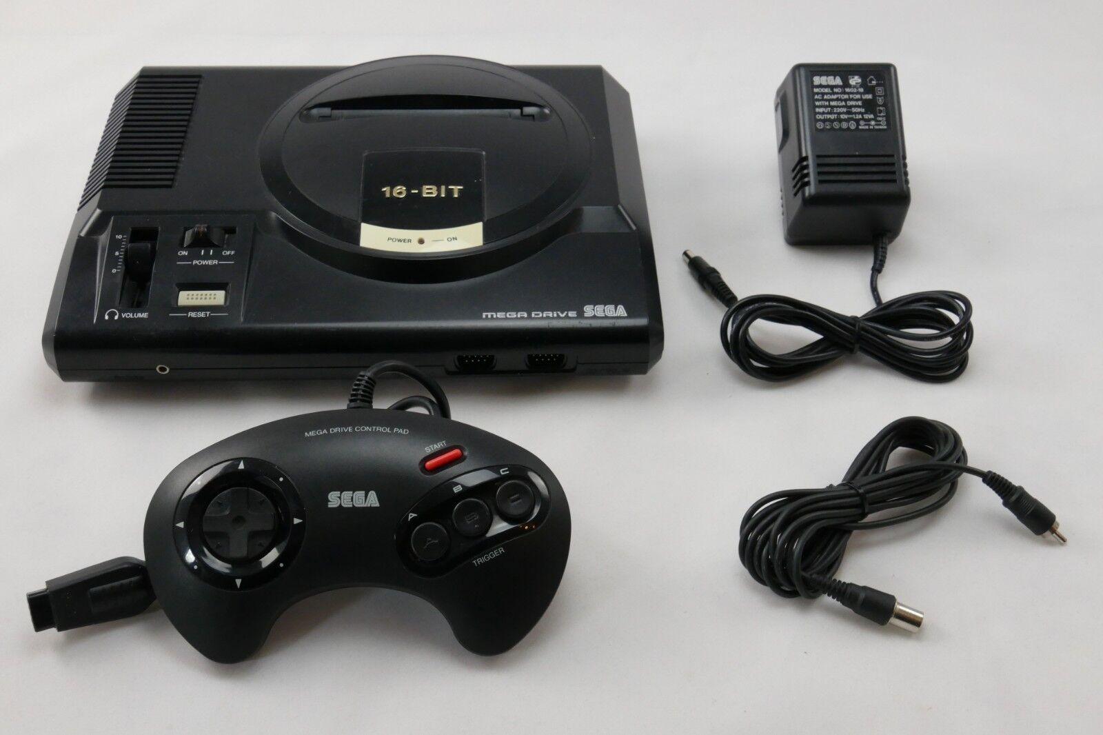 videogiochi e console: Sega Mega Drive Console Con Originale Controller & Cavo