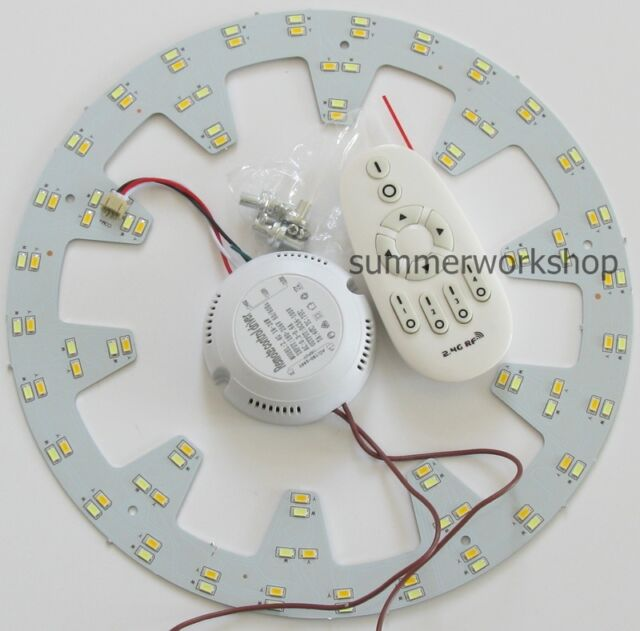Dimmable 5730 SMD LED Panel Circle Annular Ceiling Light Fixtures Board 100-265V
