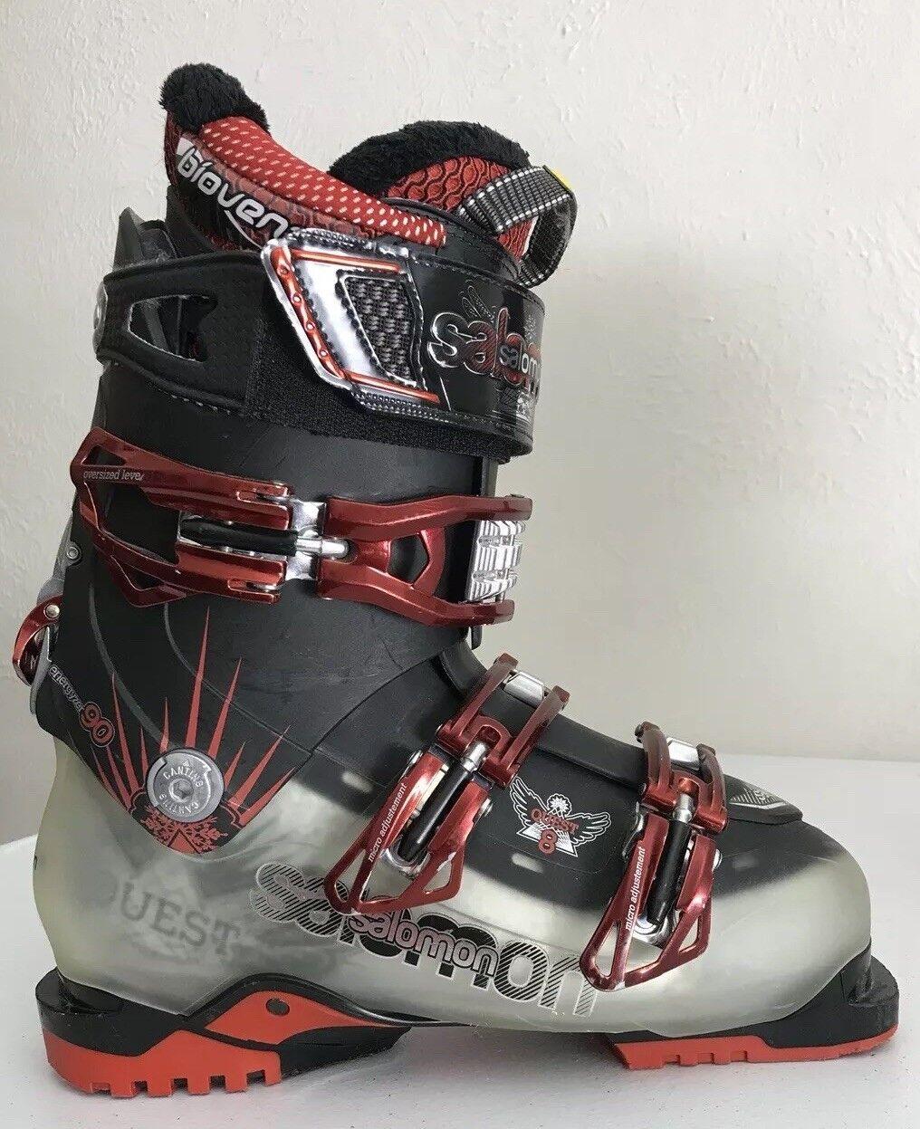 Salomon QUEST8 QUEST 8  Ski Boots Mondo 25 Biovent