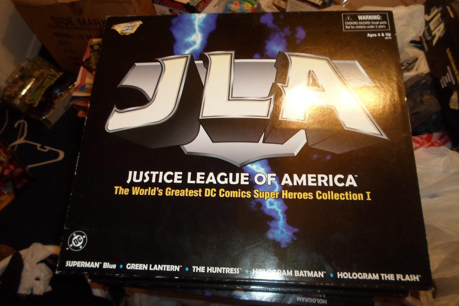 6  Figures Justice League of America DC Comics Super Heroes JLA Collection 1