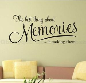 the-memory-Wall-Quote-decal-Removable-stickers-decor-Vinyl-DIY-home-art-gift