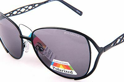 OVER SIZED WOMENS FASHION SUNGLASSES WITH POLARIZED GRAYS LENS 58145PL