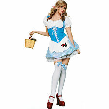 Sexy Halloween Adult Dorothy Wizard of Oz Costume Size Small