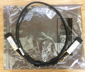 2 Brocade 40G-QSFP-C-0101 40GE QSFP Direct Attached Cable 1m ICX stacking Lot