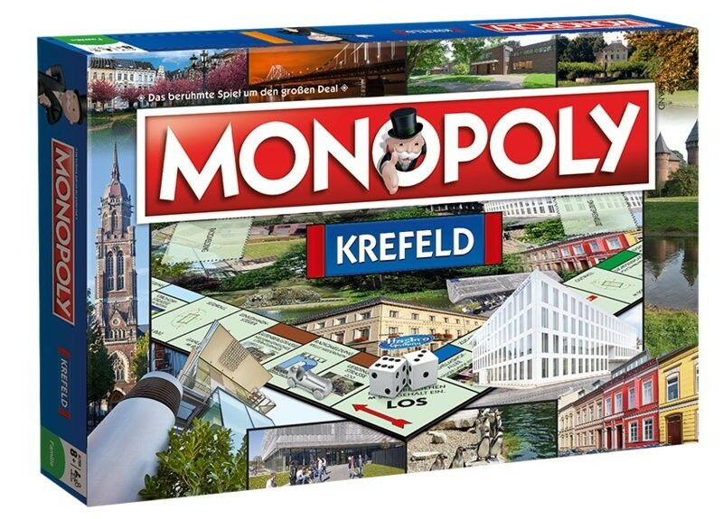 Monopoly Krefeld City Edition Party Game Board Game Game New New New fd87e4