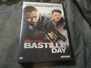 "DVD ""BASTILLE DAY"" Idris ELBA, James WATKINS, Jose GARCIA"