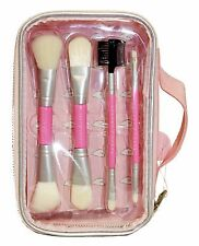 CHERRY CHREE Makeup Lunchbox BRUSHES Cosmetic Storage Case 5 PIECE SET NEW!