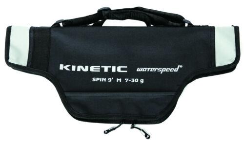 55cm Transportlänge Kinetic Angel Combo Reiserute Spin-Rute mit Rolle ca