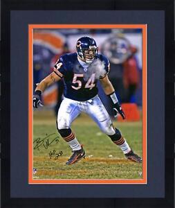 Autographed Brian Urlacher Bears 16x20 Photo Fanatics Authentic COA