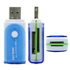 Todo en 1 USB Adaptador Lector Tarjetas Memoria a M2 SD SDHC Mini SD TF Tarjetas