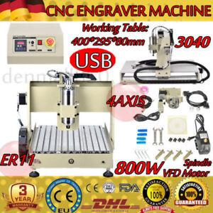 USB-4-ejes-CNC-3040-Router-Engraver-grabador-fresado-Perforacion-Cutting-800W-ES