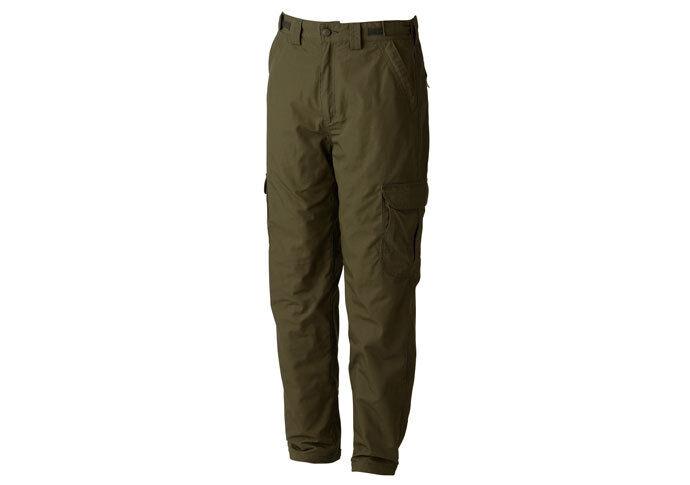 Trakker Ripstop Thermal Grün Combats Trousers NEW All Größes