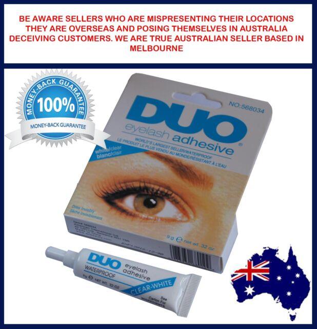 5 Pairs Black Cross False Eyelashes Striplash 9g Duo Eyelash Glue