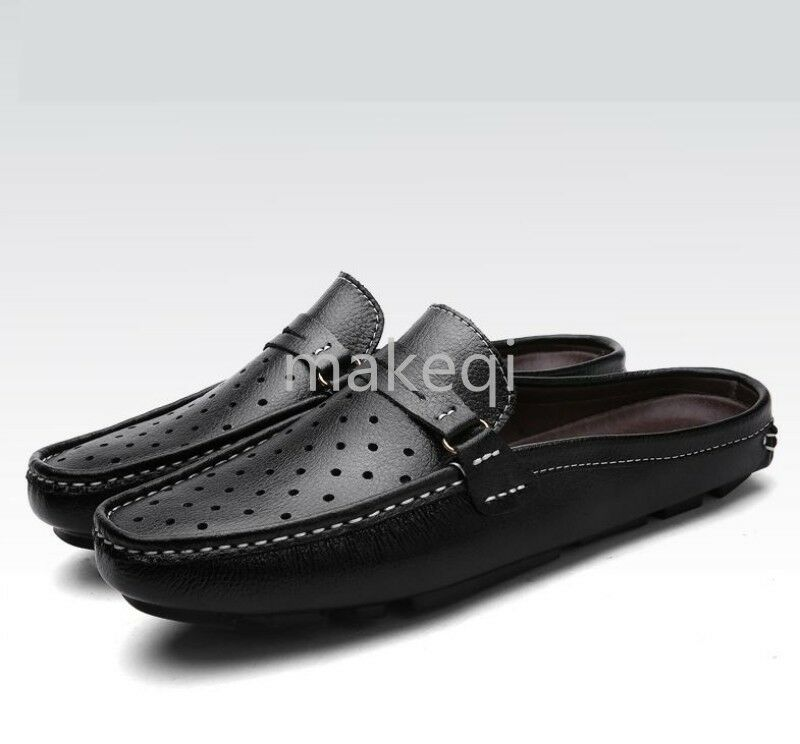 New Fashion Mens Casual Slides Mules Driving Car Gommino Moccasin Shoes Summer
