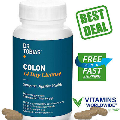 Dr Tobias Colon 14 Day Quick Cleanse - Supports Detox & Increased Energy Levels