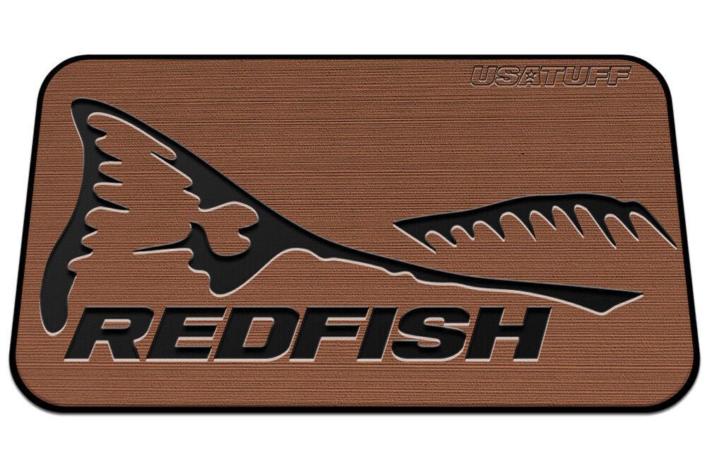 USATuff Cooler Seat Pad fits YETI 110qt 2-Layer Redfish TL Name - Tan Blk