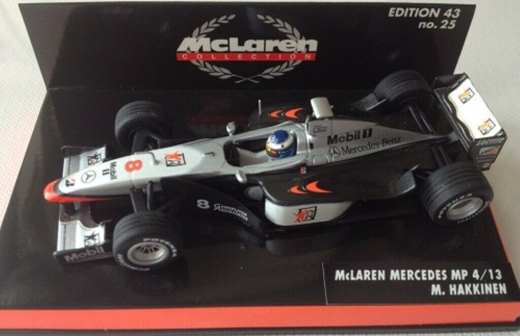 saludable Minichamps McLaren F1 Modelo coches M López n Mansell Mansell Mansell M Alemania 1994-99 1 43  80% de descuento