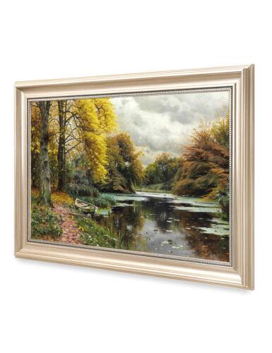 DecorArts Peder Mork Monsted Landscape Reproduction Giclee Prints Framed24x16