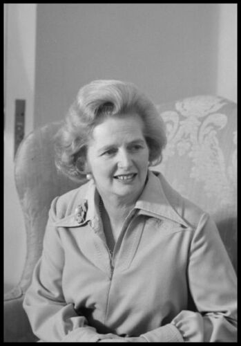 PH09 1975 Margaret Thatcher Iron Lady Photo Photograph Re-Print A3//A2