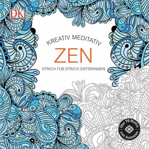 1 von 1 - Kreativ meditativ Zen (2015, Taschenbuch) Malbuch NEU