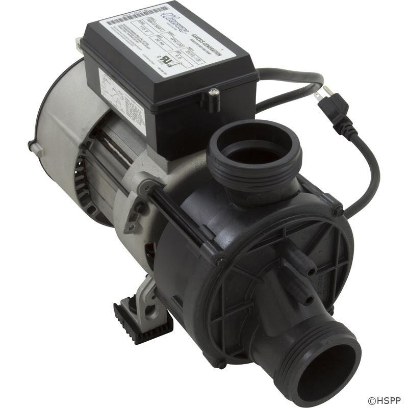 Waterway Genesis Bomba de Baño 5.5Amp 120v Interruptor de aire Nema Cable & - 321FF10-0150