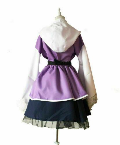 Hyuga Hinata Lolita Kimono Dress Anime Cosplay Costume
