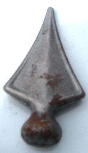 Metall 10 Stück Zaunspitzen Zaunelement ZS006 Zierspitzen