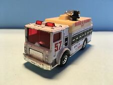 Diecast Matchbox Mack Auxiliary Power Truck 1991 Red Wear & Tear Good Condition