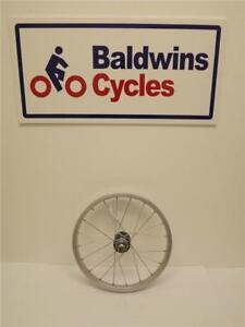 16-034-REAR-Kids-Folding-Bike-Wheel-Alloy-Rim-amp-SCREW-ON-Steel-Hub