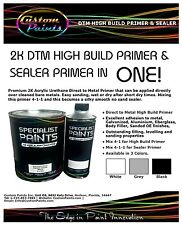 2k Multiuse Primer Surfacer Sealer High Build Grey Primer Valspar
