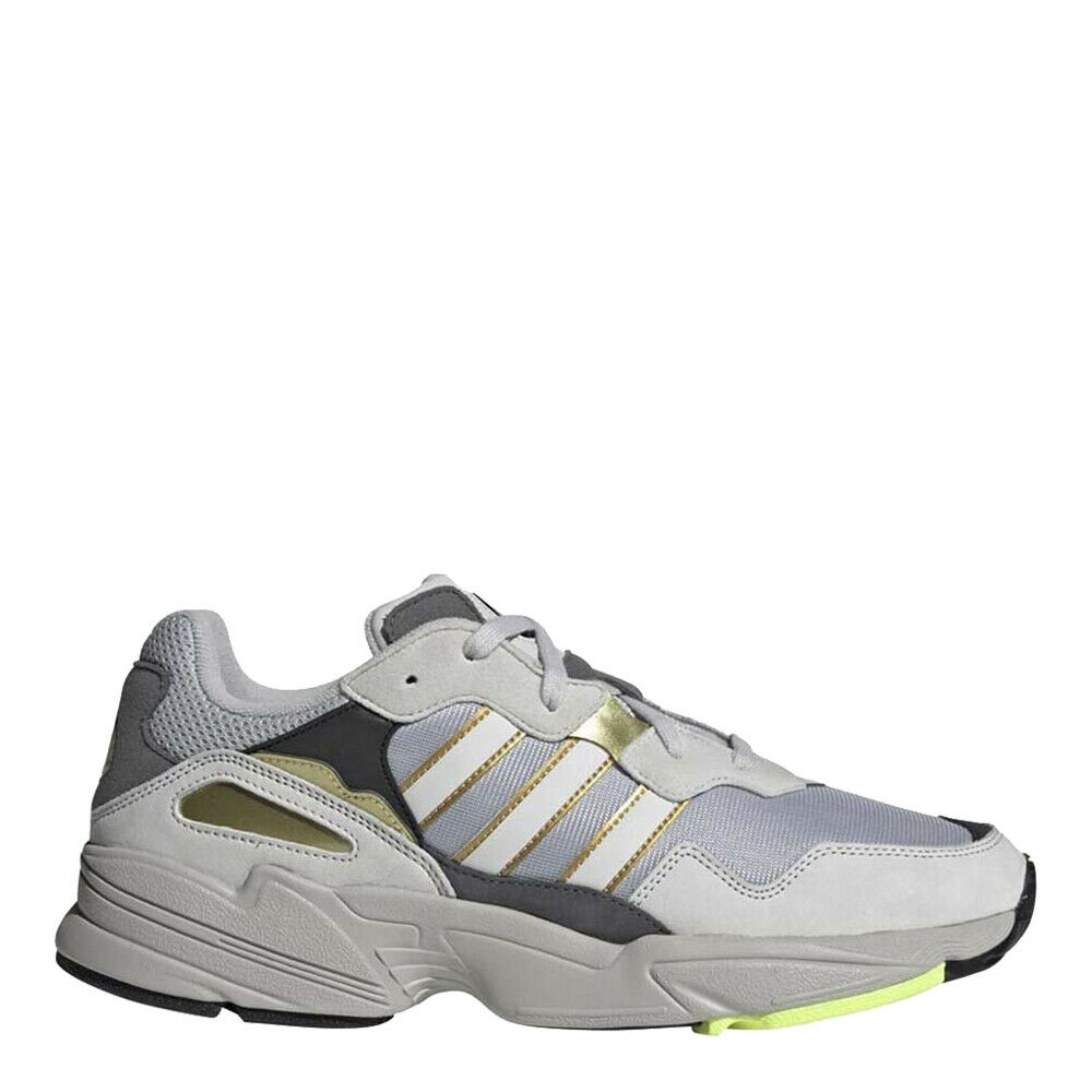 Adidas Men's Originals Yung-96 shoes  Silver gold Green - DB3565