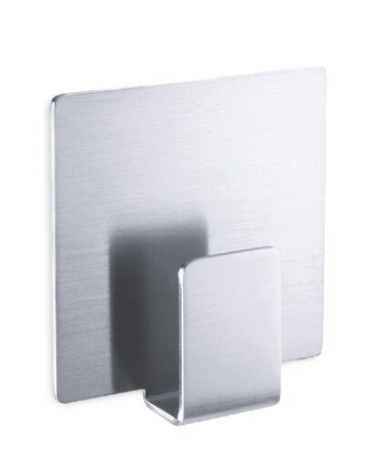 ZACK Edelstahl Handtuchhaken APPESO Handtuchhalter Haken selbstklebend 40134