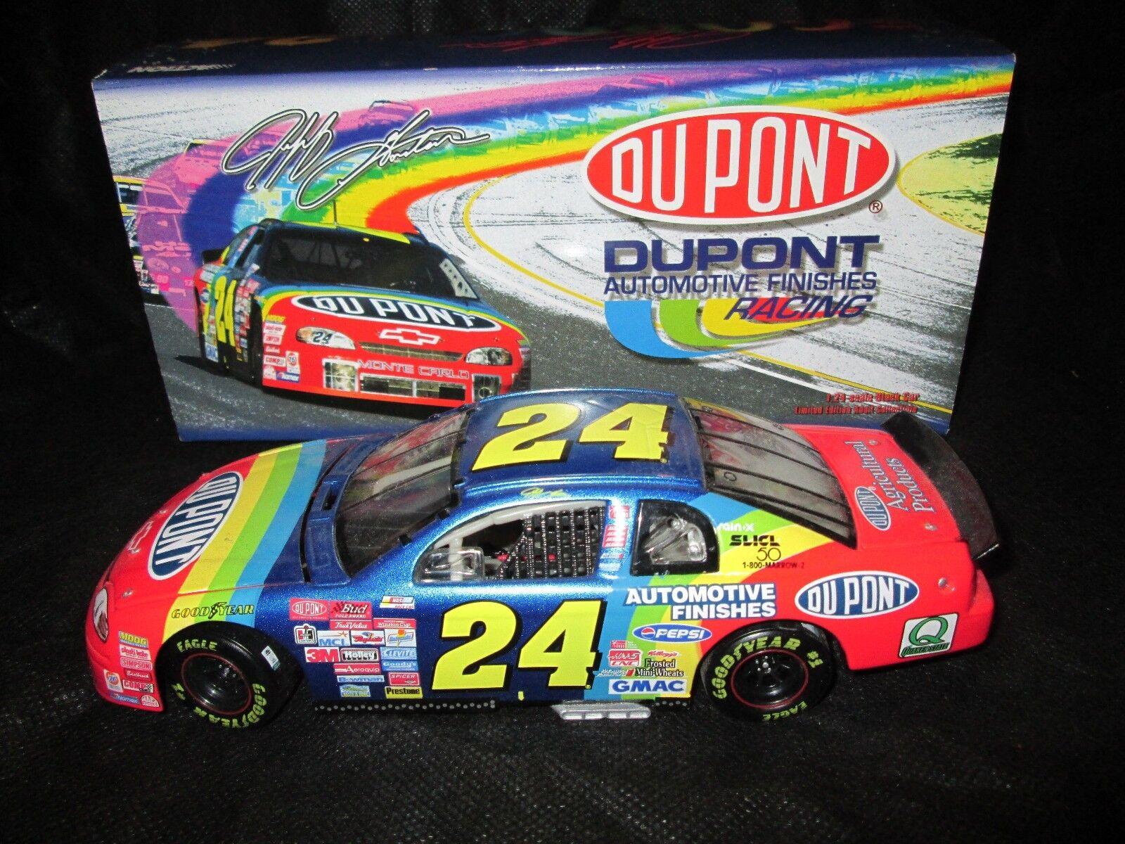 Action NASCAR 1 24 Car Jeff Gordon  Dupont 1999 Chevy Monte Carlo
