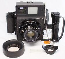 Mamiya Universal Press Super 23 100mm F3.5 Lens 6x9 Film Back w/ Shutter Grip