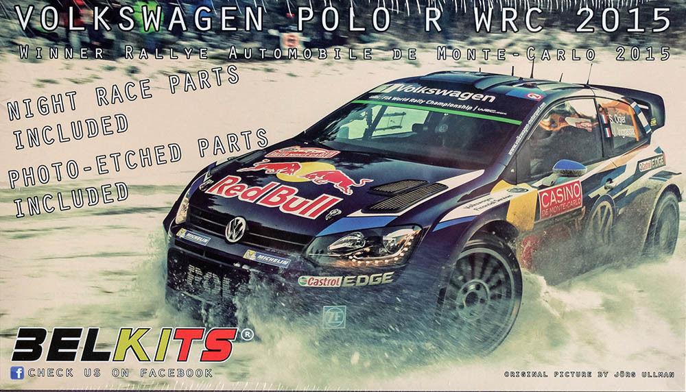 BELKITS VOLKSWAGEN POLO R WRC 2015 MONTECARLO RALLY WINNER 1 24 COD.BEL010