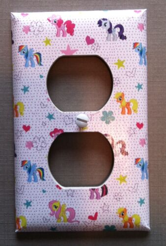 MY LITTLE PONY LIGHT SWITCH COVER PLATE GIRLS ROOM DECOR OUTLETS