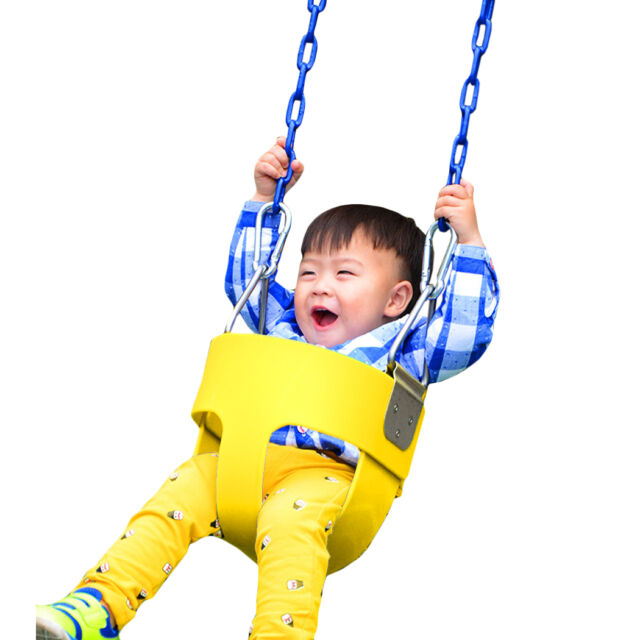 Swing Seat Playground Outdoor Swingset Accessories Full Bucket High