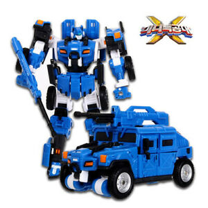 Miniforce 2019 Penta X Volt Bolt Bot Blue Transformer Robot Car Toy