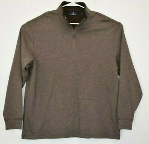 Hart-Schaffner-Marx-Men-039-s-X-Large-1-4-Zip-Pullover-Long-Sleeve-Sweater