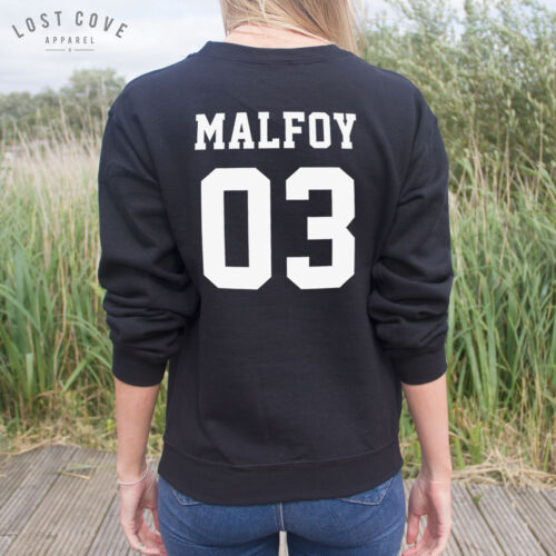 MALFOY 03 Pullover Potter fangirl *