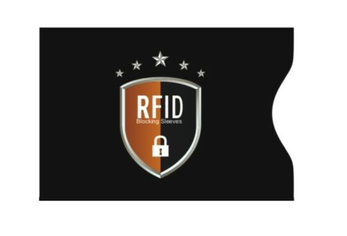 1 card RFID carta di credito di debito senza contatto blocco Protettore Manica Wallet #5