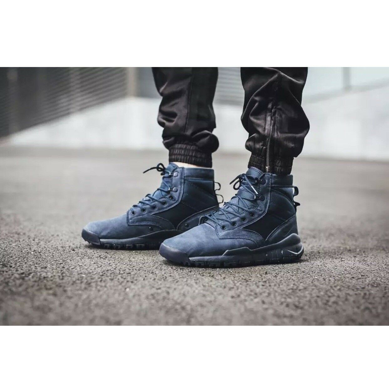 New Nike SFB Trainer Sz 8.5 bluee Mens Training shoes 862507-400 Leather 6  Boot