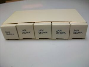 SLEEVE  OF  5  SYLVANIA  JAN  0B2WA  TUBES