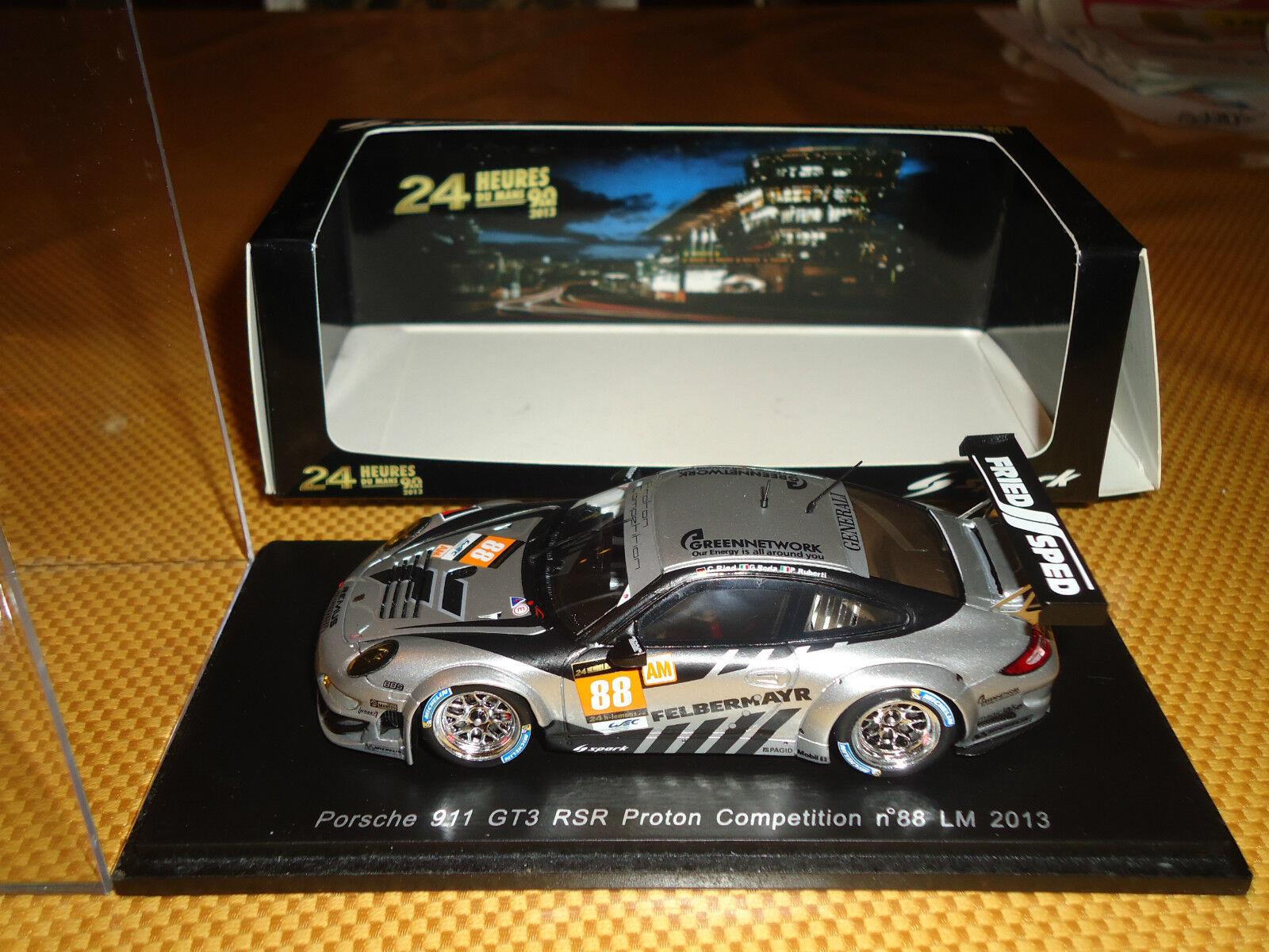 Spark 1 43 Porsche 911 GT3 RSR  88 Le Mans 2013