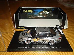 Spark 1/43 Porsche 911 GT3 Rsr # 88 Le Mans 2013