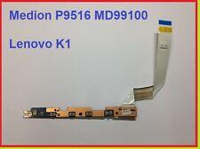 Medion P9516 MD91000 Lenovo K1 an aus Taste Lautstärke Platine
